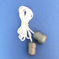 Pewter Acorn and Cord Connector Set (CC/CAP)